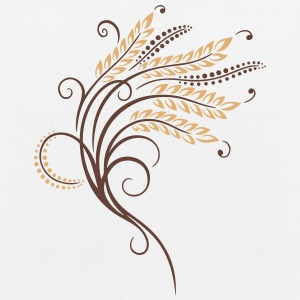Filigree grain ears, baker, bakery - EarthPositive Tote Bag