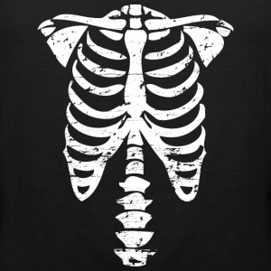 Halloween bones costume Sports wear - Men's Premium Tank Top