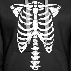 OS d'Halloween costume Sweat-shirts - Sweat-shirt à capuche Premium pour femmes