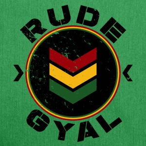 Rude Gyal  - Schultertasche aus Recycling-Material