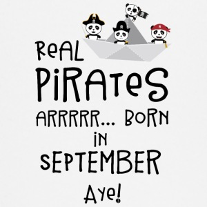 Real Pirates are born in SEPTEMBER Spwla Baby Long Sleeve Shirts - Baby Long Sleeve T-Shirt