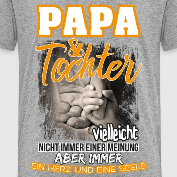 Papa & Tochter T-Shirts - Teenager Premium T-Shirt