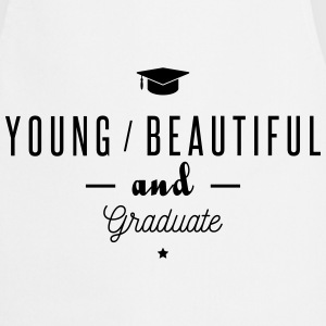 young and graduate  Aprons - Cooking Apron