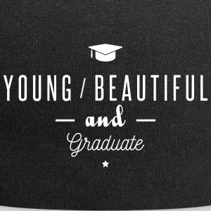 young and graduate Caps & Hats - Jersey Beanie
