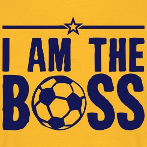 football citation i am the boss humour  Tee shirts - T-shirt Homme