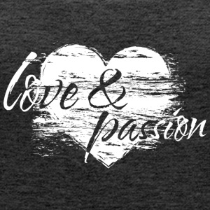 love and passion_heart Tops - Frauen Premium Tank Top