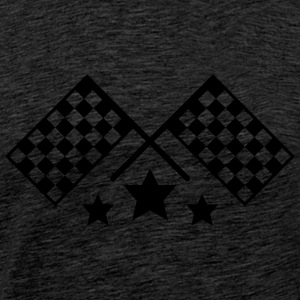 race flags T-Shirts - Men's Premium T-Shirt