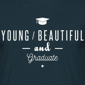 young and graduate T-shirts - Herre-T-shirt