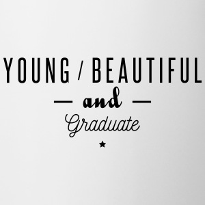 young beautiful graduate Mugs & Drinkware - Mug