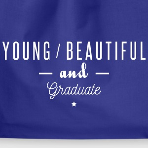 young beautiful graduate Tassen & rugzakken - Gymtas