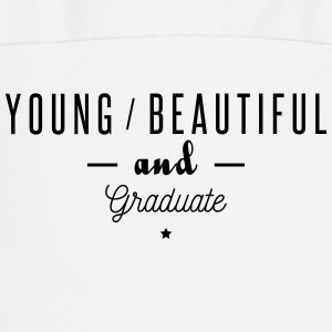 young beautiful graduate  Aprons - Cooking Apron