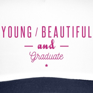 young beautiful graduate Czapki  - Trucker Cap