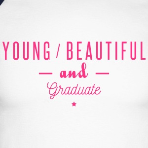 young beautiful graduate Long sleeve shirts - Men's Long Sleeve Baseball T-Shirt