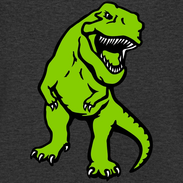 T-rex dinosaure opaque Tee shirts - T-shirt Homme col V