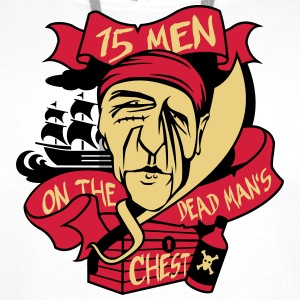 fifteen men on the dead man's chest Pullover & Hoodies - Männer Premium Hoodie