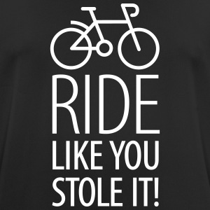 Ride like you stole it T-shirts - Andningsaktiv T-shirt herr