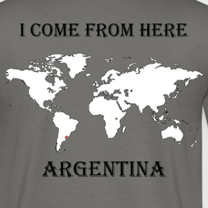Argentina-blanc - T-shirt Homme