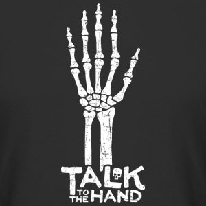 Talk to the Hand T-Shirt - Männer Urban Longshirt