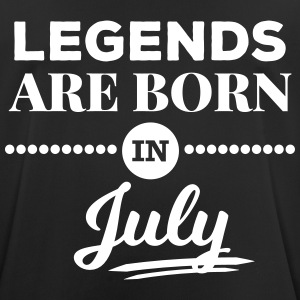 legends are born in july Geburtstag Spruch T-Shirts - Männer T-Shirt atmungsaktiv