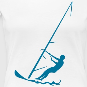 surfen T-Shirts - Frauen Premium T-Shirt