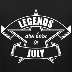 Legends are born in July (Anniversaire / Cadeau) Vêtements de sport - Débardeur Premium Homme