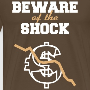 Beware of the  Shock T-Shirts - Men's Premium T-Shirt