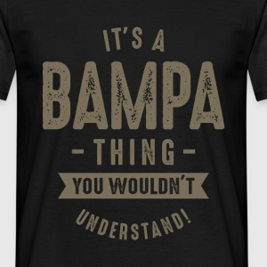 Bampa Thing - Men's T-Shirt