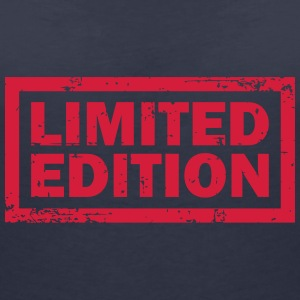 Limited Edition Label T-Shirts - Frauen T-Shirt mit V-Ausschnitt