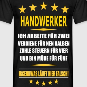 suchbegriff 39 handwerker 39 t shirts online bestellen spreadshirt. Black Bedroom Furniture Sets. Home Design Ideas