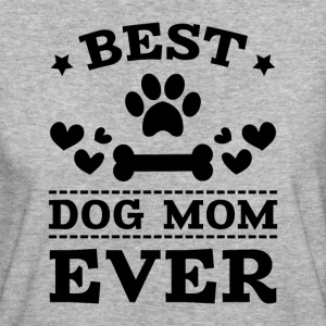 Best Dog Mom Ever T-Shirts - Frauen Bio-T-Shirt