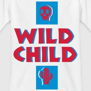 Wild child - Kinder T-Shirt