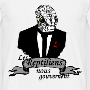 Reptilien Tee shirts - T-shirt Homme