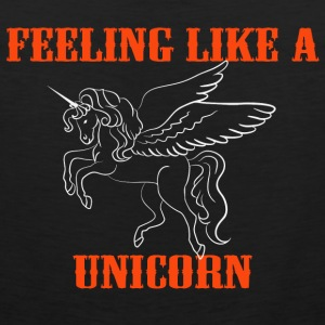 Feeling like a unicorn Sports wear - Men's Premium Tank Top