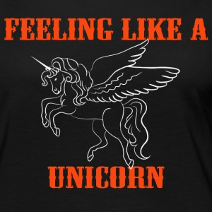 Feeling like a unicorn Long Sleeve Shirts - Women's Premium Longsleeve Shirt