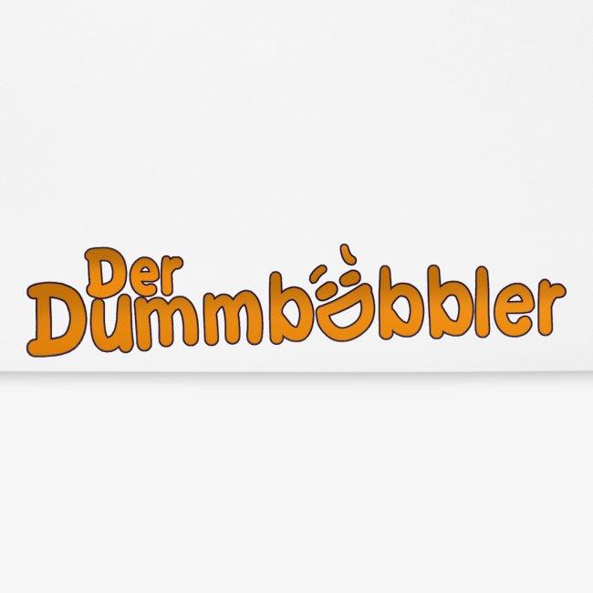 DerDummbabbler MousePad Schriftzug