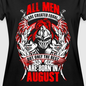 August - All men are created equal - EN Koszulki - Koszulka damska oversize