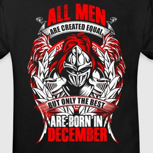 December - All men are created equal - EN Camisetas - Camiseta ecológica niño