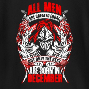December - All men are created equal - EN Maglietta a maniche lunghe per neonati - Maglietta a manica lunga per bambini