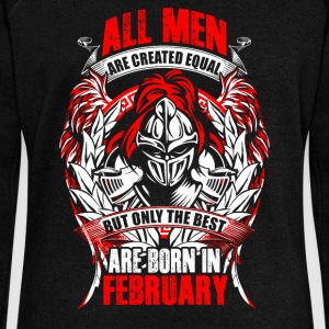 February - All men are created equal - EN Sweat-shirts - Pull Femme col bateau de Bella