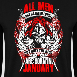January - All men are created equal - EN Tröjor - Herrtröja