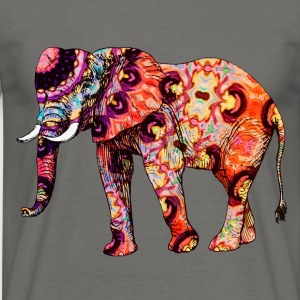 Psychedelic Elephant T-Shirts - Männer T-Shirt