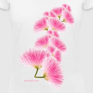 Flor de seda T-Shirts - Women's V-Neck T-Shirt