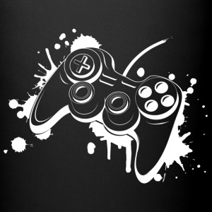 Gamepad Graffiti Mugs & Drinkware - Full Colour Mug