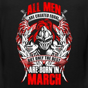 March - All men are created equal - EN Vêtements de sport - Débardeur Premium Homme