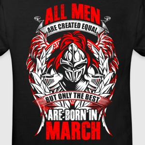 March - All men are created equal - EN Tee shirts - T-shirt Bio Enfant