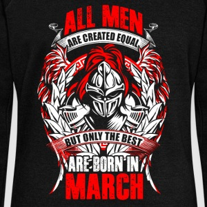 March - All men are created equal - EN Sweat-shirts - Pull Femme col bateau de Bella