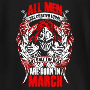 March - All men are created equal - EN Maglietta a maniche lunghe per neonati - Maglietta a manica lunga per bambini