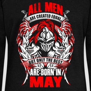 May - All men are created equal - EN Felpe - Felpa con scollo a barca da donna, marca Bella