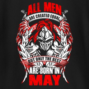 May - All men are created equal - EN Baby Long Sleeve Shirts - Baby Long Sleeve T-Shirt