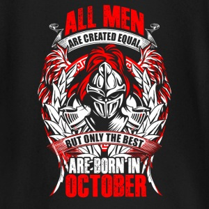 October - All men are created equal - EN Langermede T-skjorter for babyer - Langarmet baby-T-skjorte